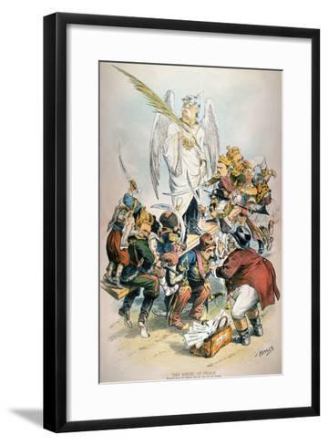 Otto Von Bismarck-Joseph Keppler-Framed Art Print