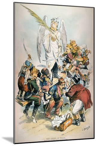 Otto Von Bismarck-Joseph Keppler-Mounted Giclee Print