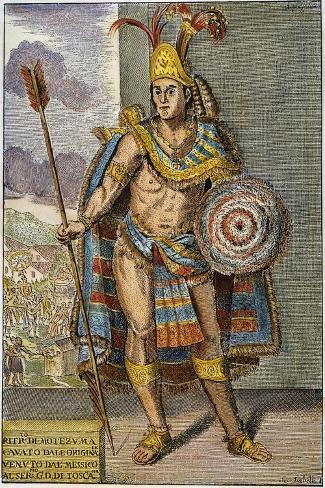 Montezuma Ii (1480?-1520)--Stretched Canvas Print