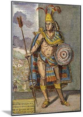 Montezuma Ii (1480?-1520)--Mounted Giclee Print