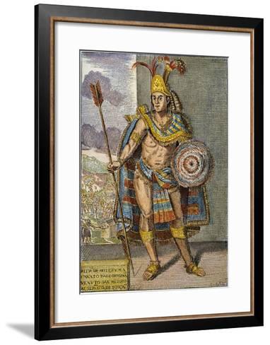 Montezuma Ii (1480?-1520)--Framed Art Print