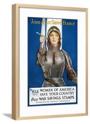 World War I: Savings Stamp--Framed Art Print