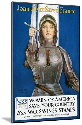 World War I: Savings Stamp--Mounted Giclee Print