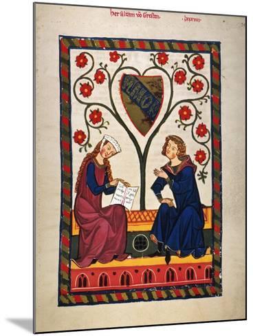 German Minnesinger 14Th C--Mounted Giclee Print