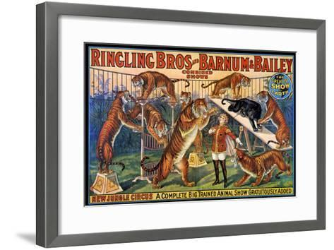 Circus Poster, 1920S--Framed Art Print