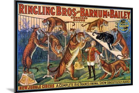 Circus Poster, 1920S--Mounted Giclee Print