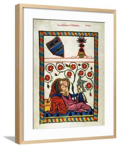 Heidelberg Lieder, 14Th C--Framed Art Print