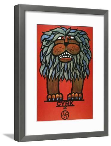 Circus Poster, 1967--Framed Art Print