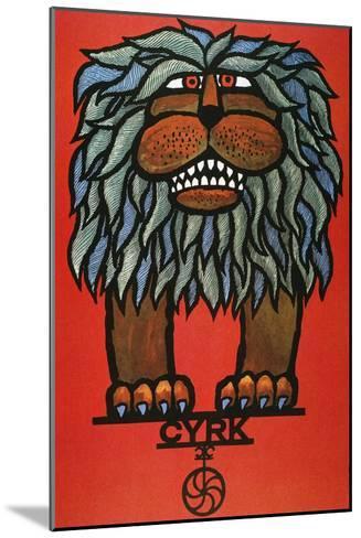Circus Poster, 1967--Mounted Giclee Print