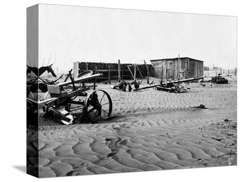Dust Bowl, C1936-Dorothea Lange-Stretched Canvas Print