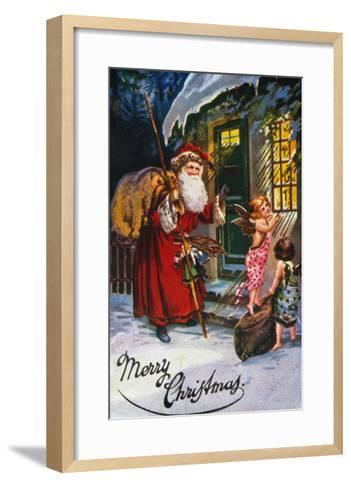 Christmas Card--Framed Art Print