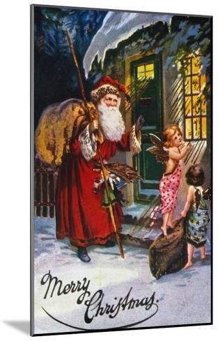 Christmas Card--Mounted Giclee Print