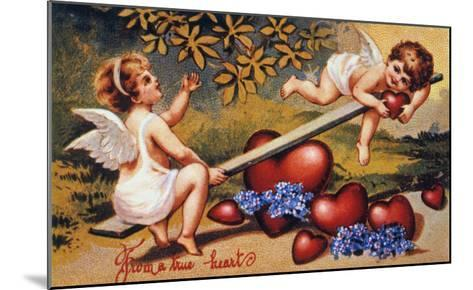 Valentine's Day Card--Mounted Giclee Print