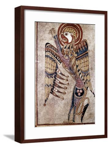 Book Of Kells: Saint Mark--Framed Art Print