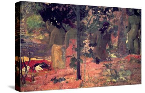 Gauguin: Bathers, 1898-Paul Gauguin-Stretched Canvas Print