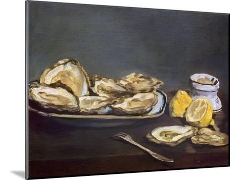 Manet: Oysters, 1862-Edouard Manet-Mounted Giclee Print