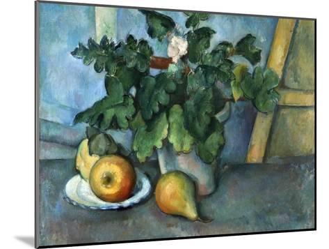 Cezanne: Still Life, C1888-Paul C?zanne-Mounted Giclee Print