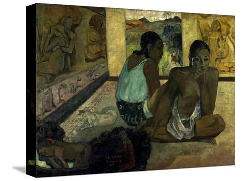 Gauguin: Te Rerioa, 1897-Paul Gauguin-Stretched Canvas Print
