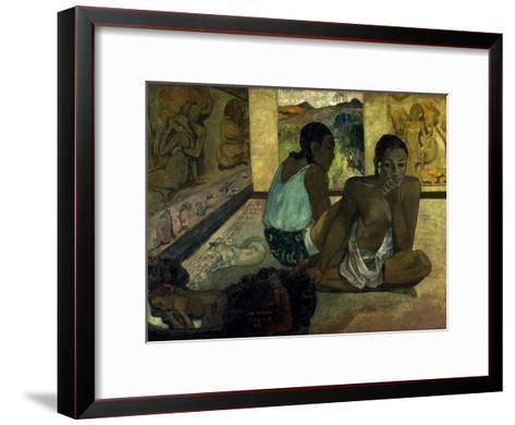 Gauguin: Te Rerioa, 1897-Paul Gauguin-Framed Art Print