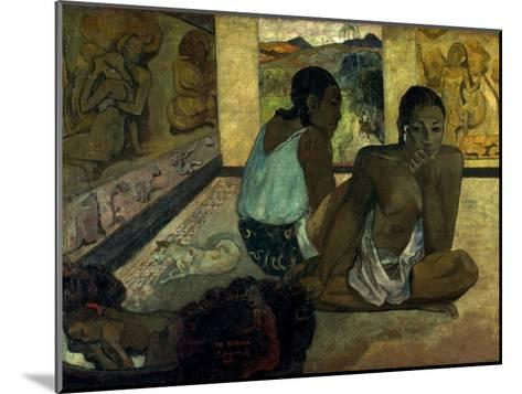 Gauguin: Te Rerioa, 1897-Paul Gauguin-Mounted Giclee Print
