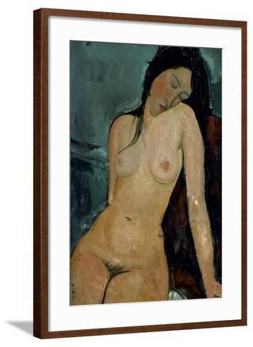 Modigliani: Nude, C1917-Amedeo Modigliani-Framed Art Print