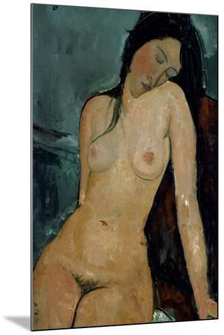 Modigliani: Nude, C1917-Amedeo Modigliani-Mounted Giclee Print