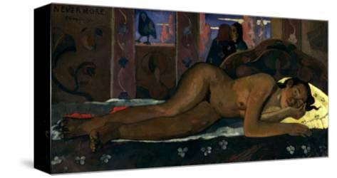 Gauguin: Nevermore, 1897-Paul Gauguin-Stretched Canvas Print