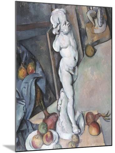Cezanne: Sill Life, C1895-Paul C?zanne-Mounted Giclee Print