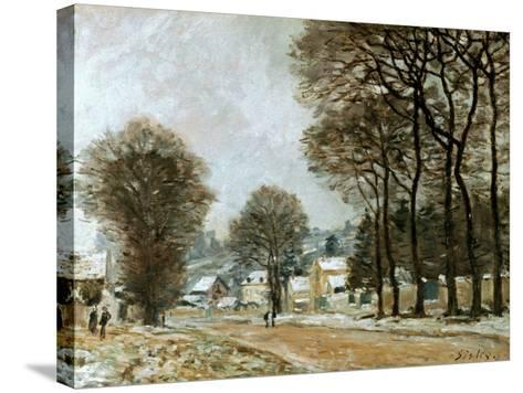 Sisley: Louveciennes, C1874-Alfred Sisley-Stretched Canvas Print