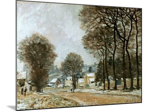 Sisley: Louveciennes, C1874-Alfred Sisley-Mounted Giclee Print