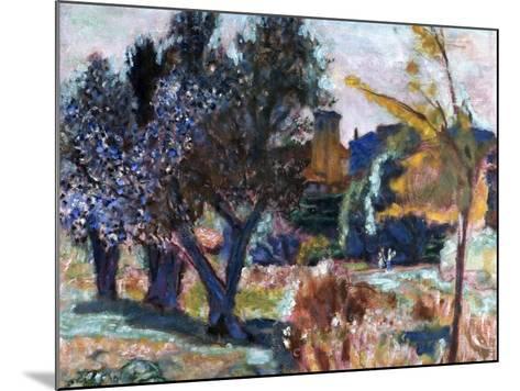 Bonnard: Landscape, 1924-Pierre Bonnard-Mounted Giclee Print