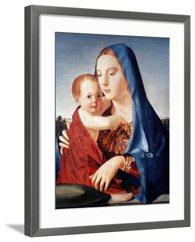 Antonello: Virgin & Child-Antonello da Messina-Framed Art Print