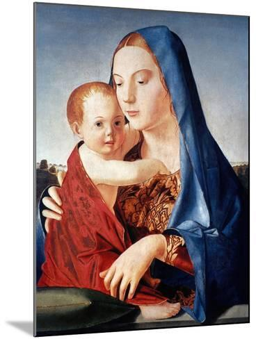 Antonello: Virgin & Child-Antonello da Messina-Mounted Giclee Print