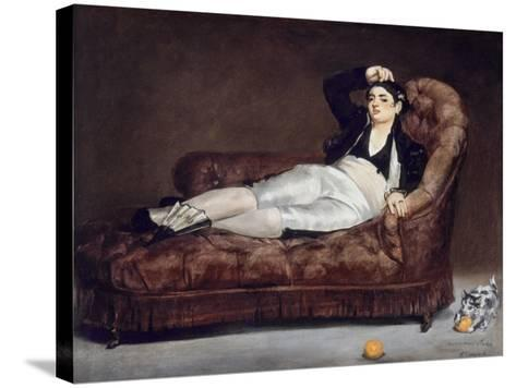 Manet: Spanish Costume-Edouard Manet-Stretched Canvas Print
