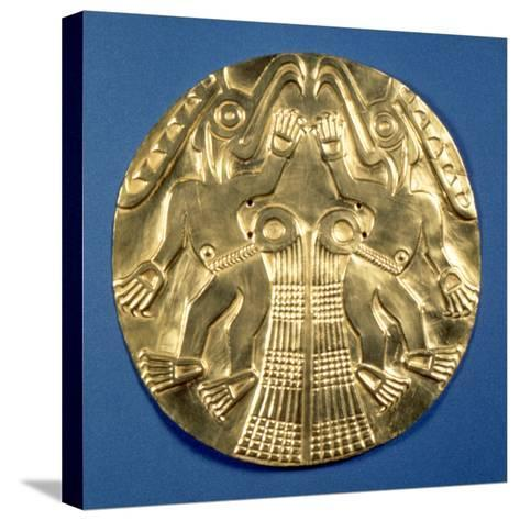 Pre-Columbian Gold, 1000 Ad--Stretched Canvas Print
