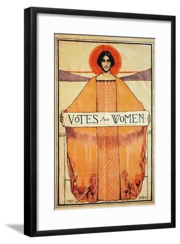 Votes For Women, 1911--Framed Art Print
