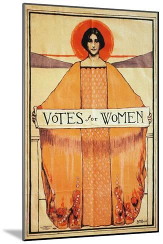 Votes For Women, 1911--Mounted Giclee Print