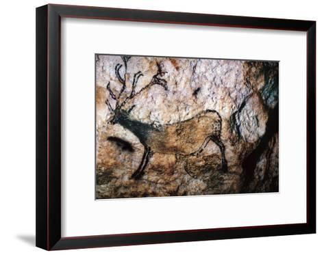Lascaux: Running Deer--Framed Art Print