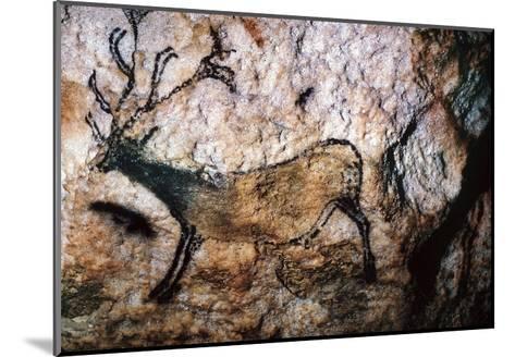 Lascaux: Running Deer--Mounted Giclee Print