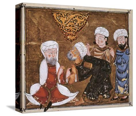 Muslim Court, 1334 A.D--Stretched Canvas Print