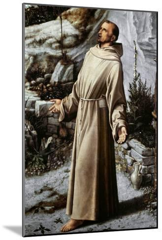 St. Francis Of Assisi-Giovanni Bellini-Mounted Giclee Print