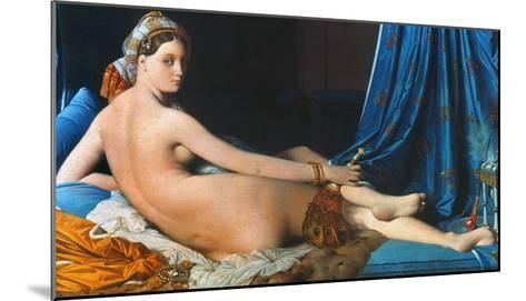 J.A.D. Ingres: Odalisque-Jean-Auguste-Dominique Ingres-Mounted Giclee Print