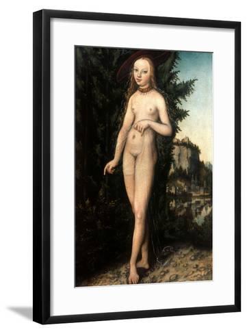 Cranach: Aphrodite/Venus-Lucas Cranach the Elder-Framed Art Print