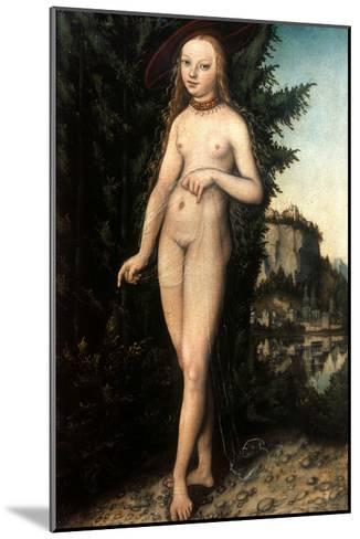 Cranach: Aphrodite/Venus-Lucas Cranach the Elder-Mounted Giclee Print