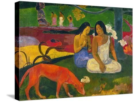 Gauguin: Arearea, 1892-Paul Gauguin-Stretched Canvas Print