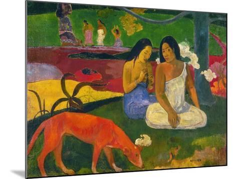 Gauguin: Arearea, 1892-Paul Gauguin-Mounted Giclee Print