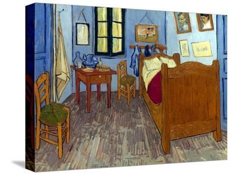Van Gogh: Bedroom, 1889-Vincent van Gogh-Stretched Canvas Print