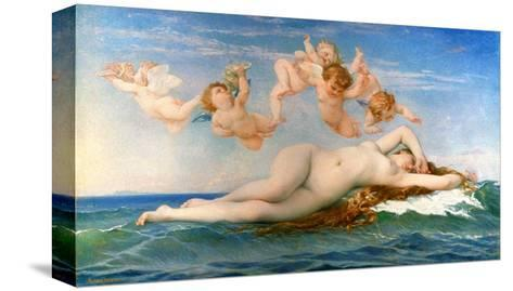 The Birth Of Venus-Alexandre Cabanel-Stretched Canvas Print