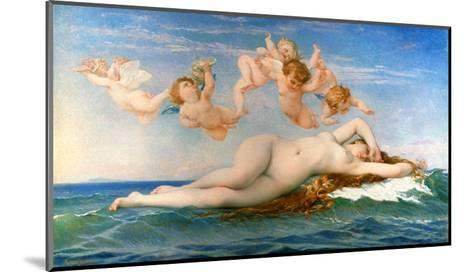 The Birth Of Venus-Alexandre Cabanel-Mounted Giclee Print