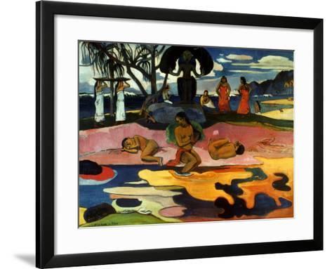 Gauguin: Day Of God, 1894-Paul Gauguin-Framed Art Print